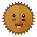 Sun Art paper. Royalty Free Stock Images