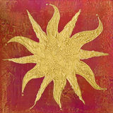 Sun Artwork Royalty Free Stock Photo