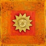 Sun artwork Stock Photo