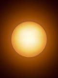 The Sun as seen through a telescope. Stock Photography