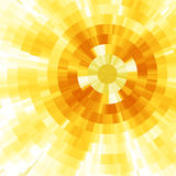 Sun astratto Fotografia Stock
