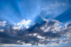Sun atrás Fotografia de Stock Royalty Free