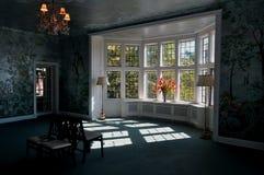 Sun attraverso la finestra Fotografia Stock Libera da Diritti