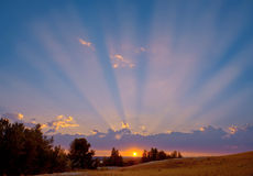 The Sun-auch Anstiege. Lizenzfreie Stockfotografie