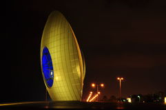 Sun-Auge in Aschdod-Stadt in Israel Lizenzfreie Stockbilder