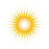 Sun-Auslegung Stockfotos