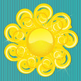 Sun background Stock Photo