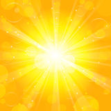 Sun - background Stock Photos