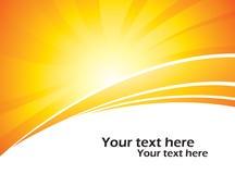 Sun background Stock Photos