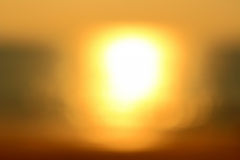 Sun background blurred Stock Photo