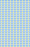 Sun background Stock Image