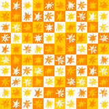 Sun background pattern. A square seamless background with water-coloured suns Royalty Free Stock Image