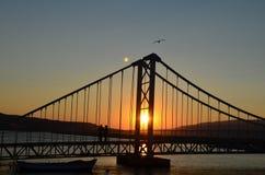 The Sun. Bandırma Balıkesir Türkiye Royalty Free Stock Image