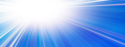 Sun banner Royalty Free Stock Photos