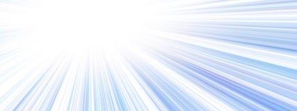 Sun banner Stock Photography