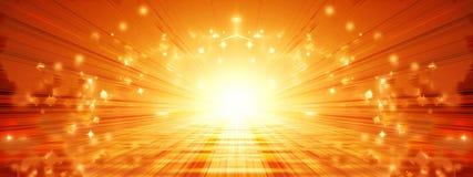 Sun banner Royalty Free Stock Photo