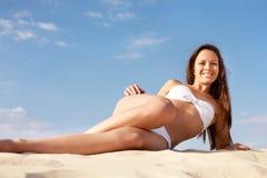 Sun bath Stock Image
