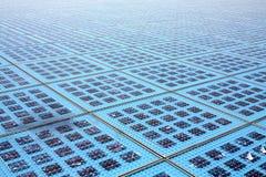 Sun-Batterie lizenzfreie stockbilder