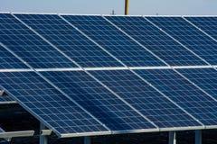 Sun-Batterie Stockfoto
