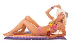 Sun beach Stock Photo