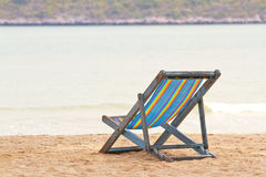 Sun beach chair Royalty Free Stock Photography