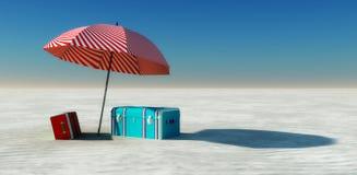 Sun and beach Royalty Free Stock Photo