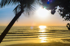 Sun beach royalty free stock image