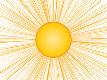 Sun Beam Stock Photography
