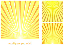 Sun_beam_background Stock Photography
