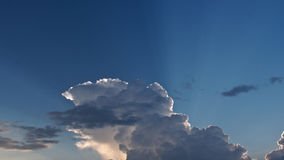 The Sun Beam The Cloud Stock Images