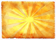 Sun beam Royalty Free Stock Photos