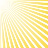 Sun beam ray sunburst pattern background summer. Shine Summer pattern. Stock Photography