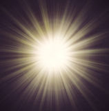 Sun Beam rays Stock Images