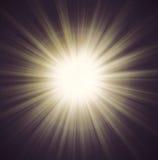 Sun Beam rays Stock Images