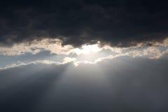 Sun beams Royalty Free Stock Images