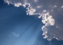 Sun Beams Stock Images