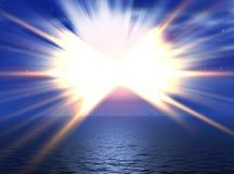 Sun beams Royalty Free Stock Photo