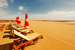Sun Bed Stock Images