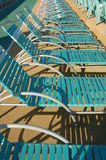 Sun beds Stock Photography