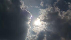 The Sun-behidewolk Royalty-vrije Stock Afbeeldingen