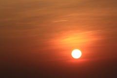 Sun behind cloud Royalty Free Stock Photos