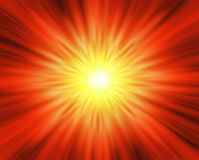 Sun blast Royalty Free Stock Photo
