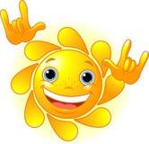 Sun bonito Fotografia de Stock