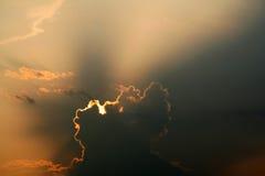 Sun Breaking Through Stock Photography