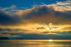 Sun breaking through Stock Images