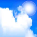 Sun brilha Imagem de Stock
