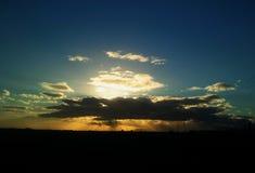 Sun brilha Imagem de Stock Royalty Free