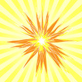 Sun Burst Background Stock Photos
