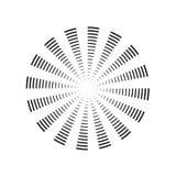 Sun burst, star burst sunshine. Radiating from the center of thin beams, lines. Vector illustration. Design element for logo,. Signs Dynamic style explosion vector illustration