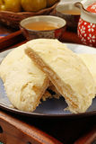 Sun cake. Also known as maltose pastry, sun cakes are a famous product of central Taiwan Royalty Free Stock Photo